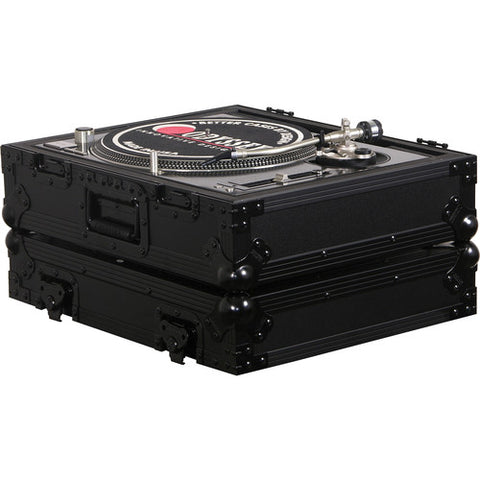 Odyssey FZ1200BLBlack Label Universal Case for Technics 1200 Style DJ Turntables