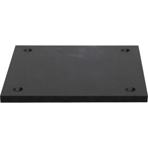 Odyssey Nexus Base Plate for DJ Truss - Black, 8 x 8""