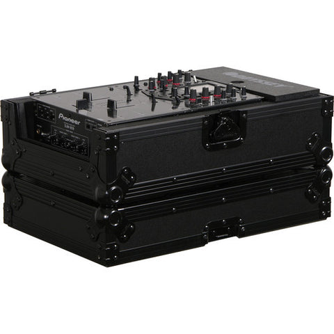 "Odyssey FZ10MIXBL Flight Zone Black Label Series - Universal 10"" DJ Mixer Case - Sonido Live"