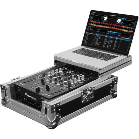 Odyssey FZGS10MX1 Flight Zone Series Low Profile Glide Style Case for a 10-Inch DJ Mixer