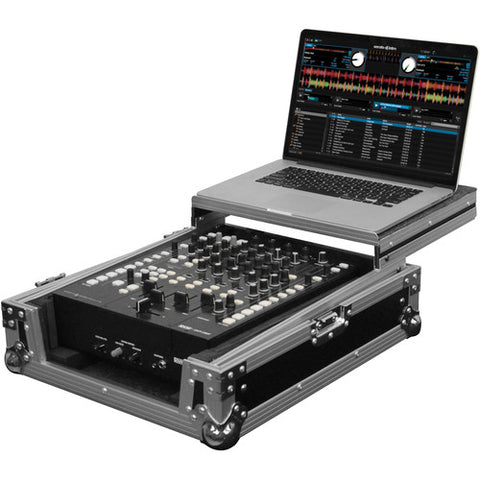 Odyssey FZGS12MX1 Flight Zone Series Low Profile Glide Style Case for a 12-Inch DJ Mixer
