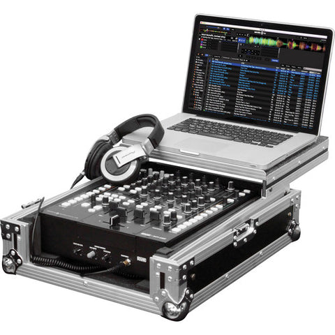 Odyssey FZGS12RANE64 Flight Zone Glide Style Mixer Case for Rane 64/Universal 12-Inch DJ Mixer