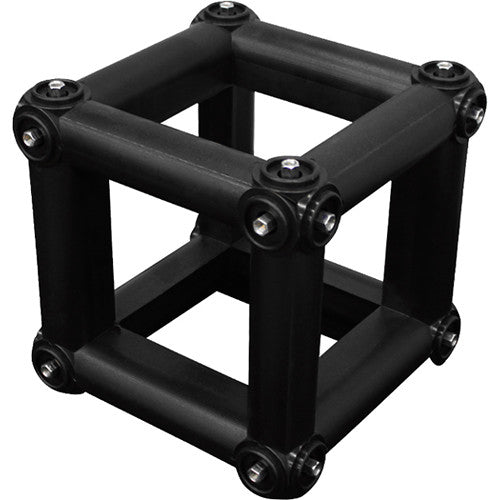 "Odyssey Nexus 10 x10"" Square Cube Connector for Folding Truss - Black"