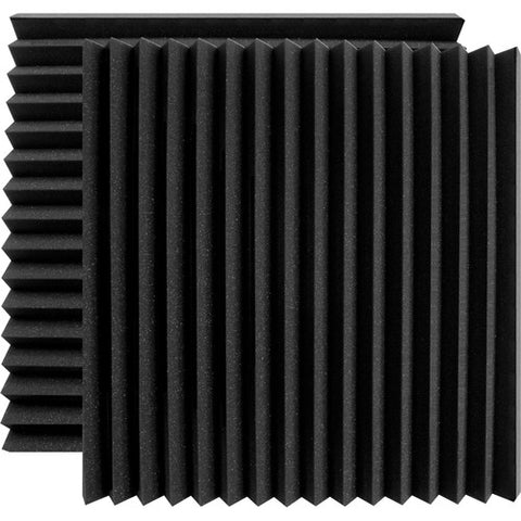 "Ultimate Support UA-WPW-24 Wedge-style Professional Studio Foam - 24""x24""x2"" - Quantity of 2"