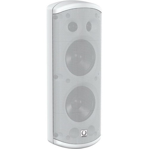 "Turbosound IMPACT TCI53-T-WH Pair of Dual 2 Way 5"" Full Range Loudspeakers with Line Transformers"