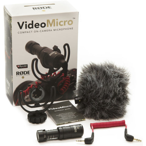 Rode VideoMicro Camera-mount Compact Microphone