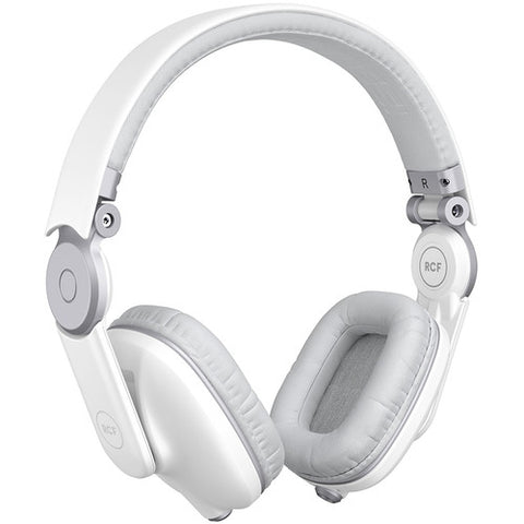 RCF Iconica Supra-Aural Headphones - Angel White