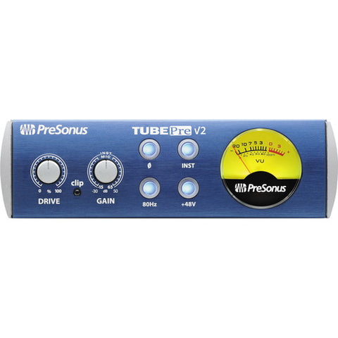 PreSonus TubePre V2 Single-channel Microphone and Instrument Preamplifier