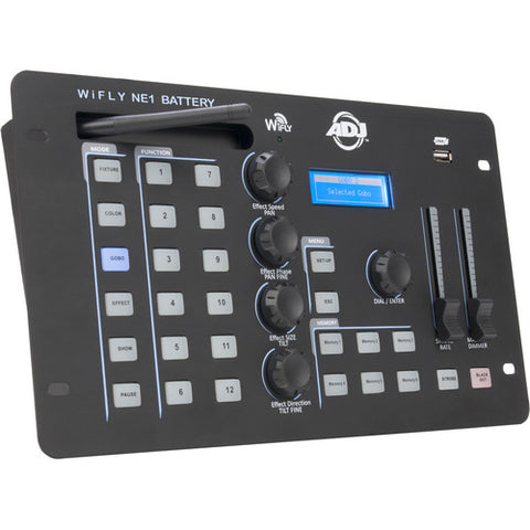American DJ WiFLY NE1 Battery DMX Controller and WiFLY Transceiver