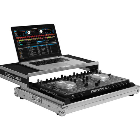 Odyssey FRGSDNMC4000 Low Profile Glide Case for Denon DN-MC4000 Controller - Sonido Live
