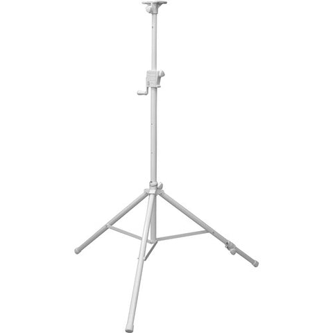 Odyssey LTS1APRO White Luxe Series Articulating Tripod Crank-Up Stand