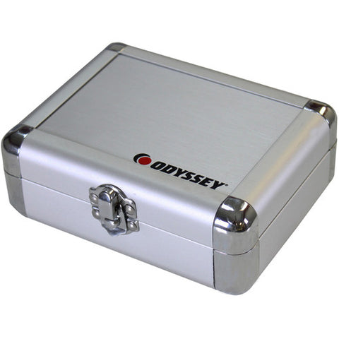 Odyssey KCC2PR2SL Silver Krom Pro2 Cartridge Case - For Two Turntable Cartridges
