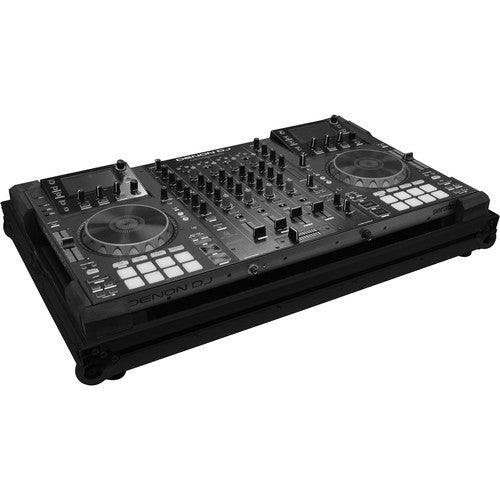 Odyssey FZMCX8000BL Black Label Low Profile Series Denon MCX8000 DJ Controller Case - Sonido Live