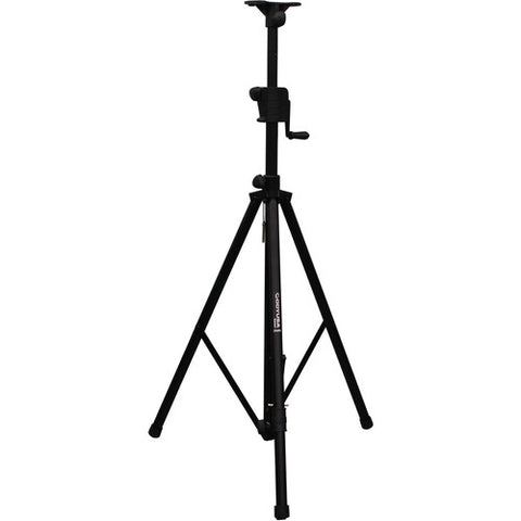 Odyssey LTS1APRO 8-Foot Luxe Series Articulating Tripod Crank-Up Stand - Black