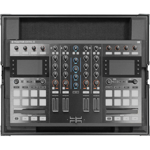 Odyssey FZTKS5BL Black Label Low-Profile Case for TRAKTOR KONTROL S4/S5 Controller - Sonido Live
