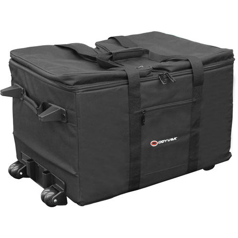 Odyssey BRLUT1HW Redline Series Utility Shuttle Bag with Pullout Handle and Wheels