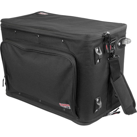 Gator GR-RACKBAG-4UW - 4U Lightweight rack bag w/ tow handle and wheels