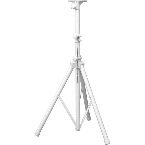 Odyssey LTS1WHT White 6-Foot Tripod Speaker Stand