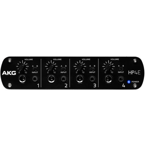 AKG HP4E 4-Channel Headphone Amplifier - Sonido Live