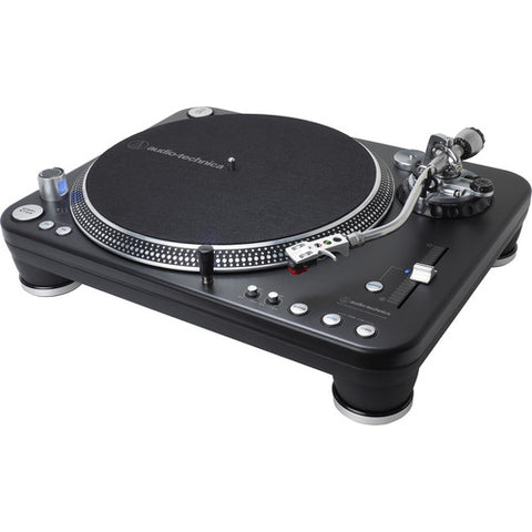 Audio-Technica AT-LP1240-USB XP Professional DJ USB & Analog Direct-Drive Turntable