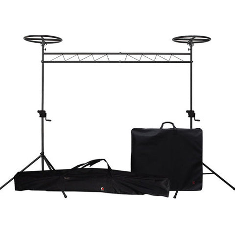 Odyssey LTMTS10HPROP Halo Mobile Crank-Up Lighting Truss System Package