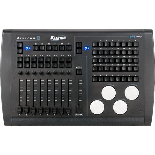 Elation MIDICON-2 Professional USB-powered Midi Software Compatible Controller