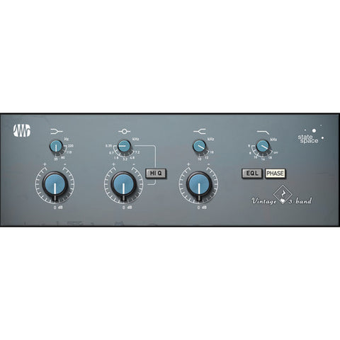 PreSonus Vintage 3-band EQ Fat Channel Plug-in