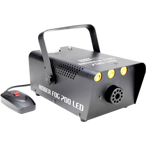 Eliminator Lighting Amber Fog 700 LED 700W Fog Machine with Amber LEDs