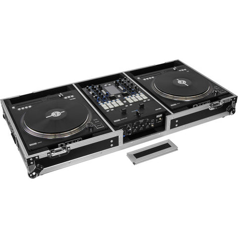 Odyssey FZRANE1272W Flight Zone DJ Battle Coffin for Rane Seventy-Two Mixer and Two Rane Twelve Controllers