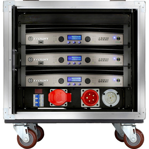 Crown VRACK12KMX Power Amplifiers and Rack Case