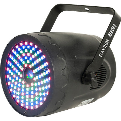 American DJ Startec Rayzer 2-FX-In-1 RGB LED and Laser Party Light