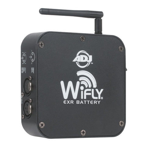 American DJ WiFLY EXR Battery Powered Transmitter/Receiver