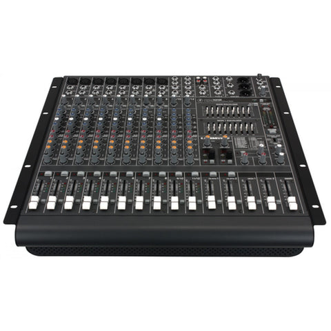 Mackie PPM1012 1600W 12-channel Powered Desktop Mixer w/ Effects - Sonido Live