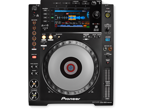 Pioneer CDJ-900NXS Digital DJ Deck/CD Player - Sonido Live