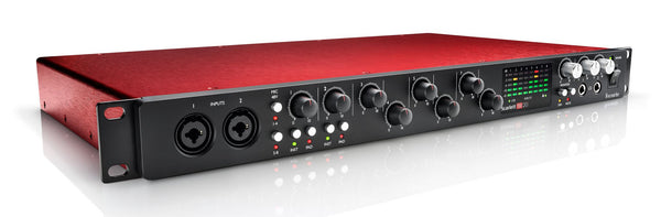 Focusrite Scarlett 18i20 USB 2.0 Audio Interface - Sonido Live