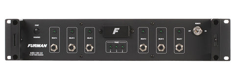 Furman ASD-120 2.0 6-channel Sequencing Power Distributor - Sonido Live