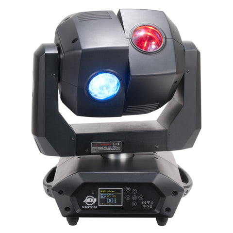 American DJ 3 Sixty 2R Dual 135-Watt Moving Head