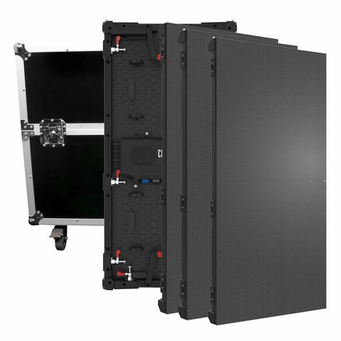 Chauvet DJ Vivid 4 Video Panel 4pk w/ Flight Case