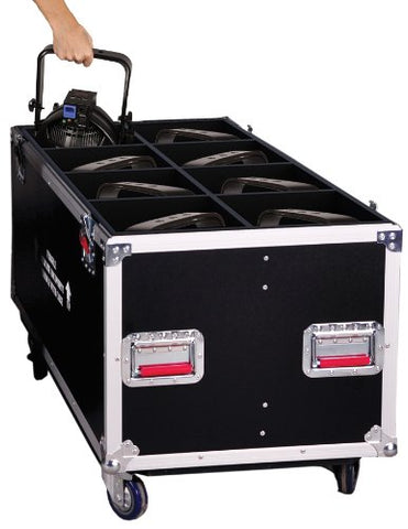 Gator G-TOURPAR64-LED-8 - ATA LED PAR 64 Transport Case