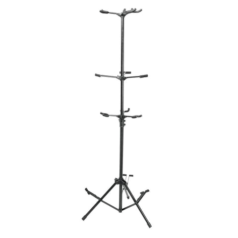 On Stage GS7652B Six-Guitar Tripod Stand