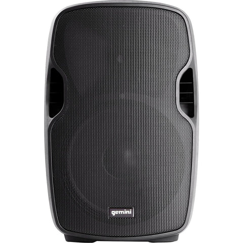 "Gemini AS-12BLU Powered 12"" Speaker with Built-in USB/SD/Bluetooth MP3 Player - Sonido Live"
