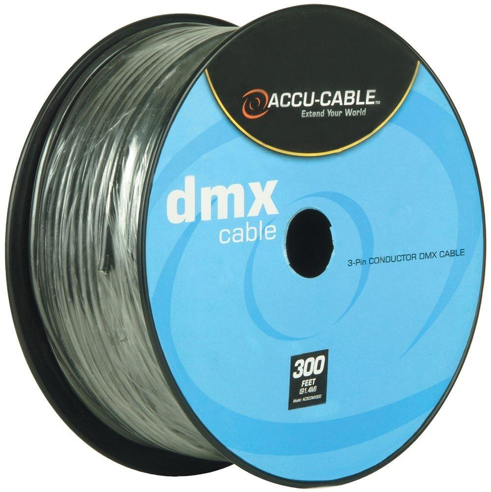Accu-Cable 300Ft Spool Bulk DMX 3-Pin Cable