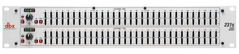 dbx 231s Dual-Channel 31-band Equalizer - Sonido Live