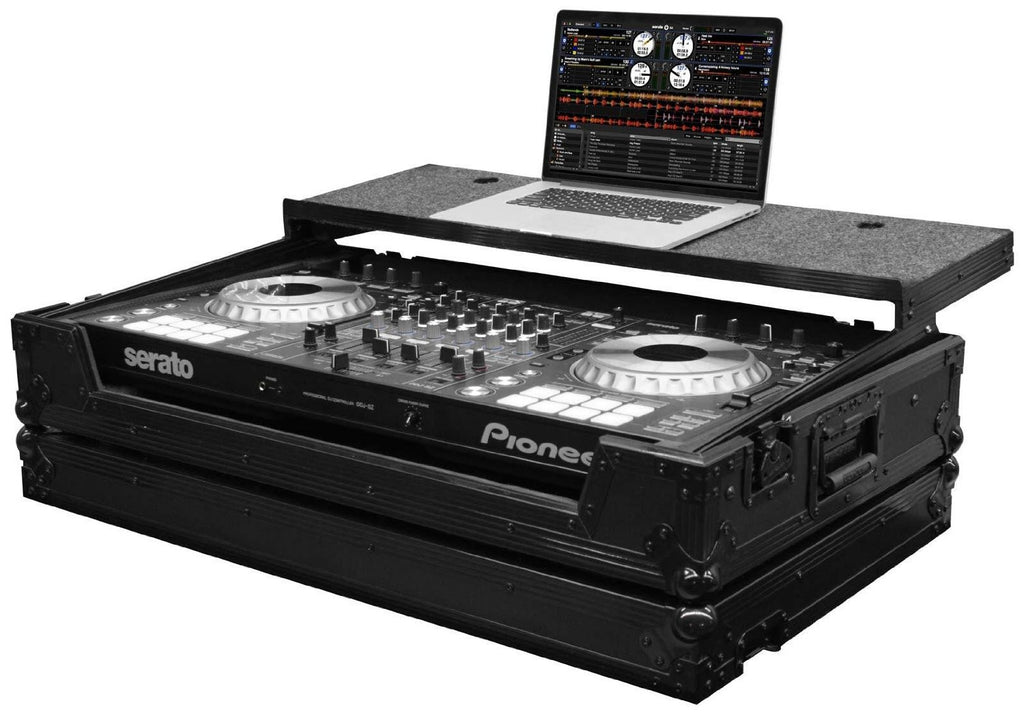Odyssey FZEUGSPIDDJSZBL Black Label Flight Zone Glide Case for Pioneer DDJ-SZ - Sonido Live