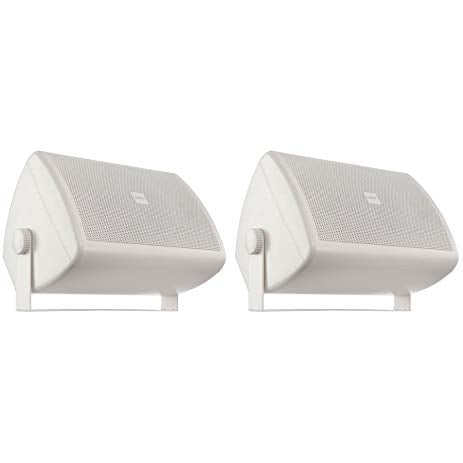 "QSC AC-S6T-WH 6.5"" 2-Way AcousticCoverage Loudspeakers (Pair, White)"