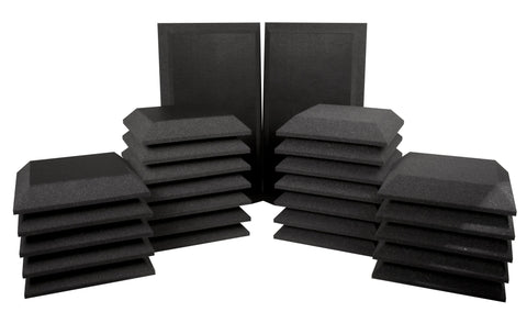 Ultimate Acoustics Studio Bundle III 24-Square Feet of Professional Acoustic Coverage