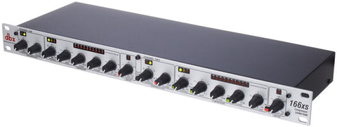dbx 166XS 2-channel Compressor/Limiter/Gate
