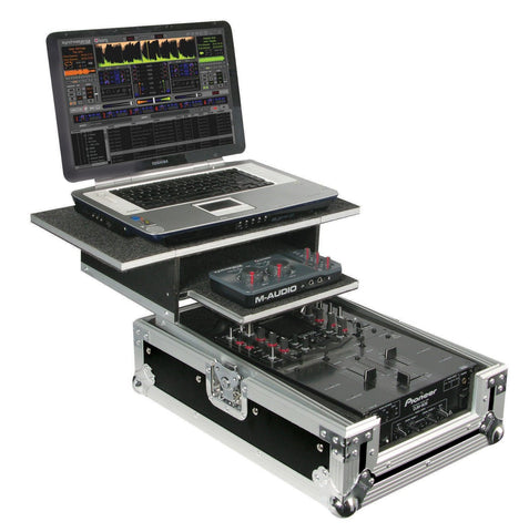 Odyssey FZGS10MIX Flight Zone Glide Style Ata Case For A 10 Mixer - Sonido Live