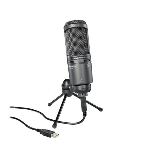 Audio-Technica AT2020USB+ Cardioid Condenser USB Microphone
