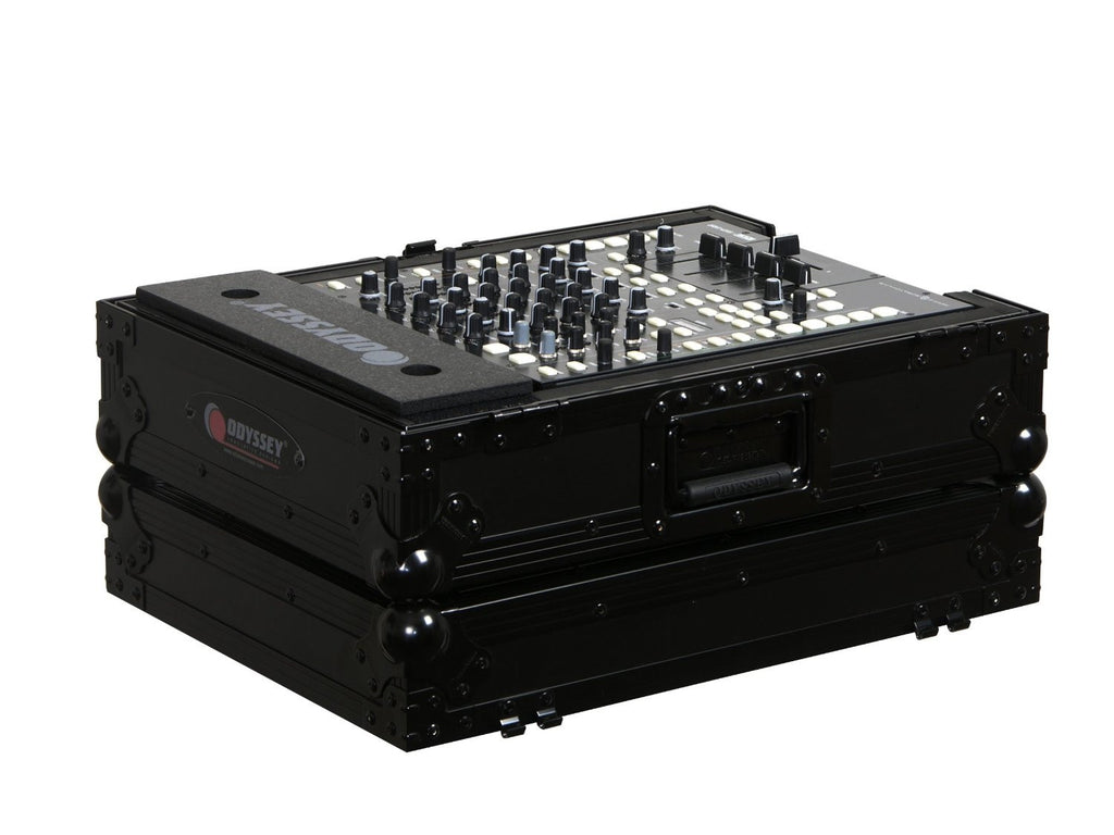 "Odyssey FZ12MIXBL Black Label Flight Zone 12"" DJ Mixer Case - Sonido Live"